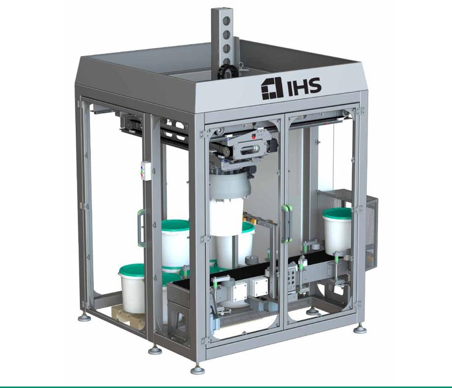 Lansarea de produse noi Gama de Sisteme de Paletizare S-PAL